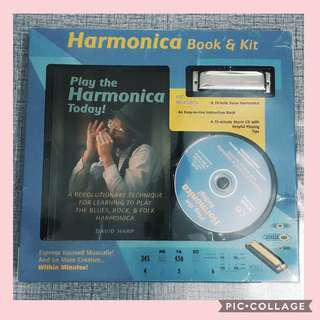 PLAY THE HARMONICA TODAY BOOK BY DAVID HARP
