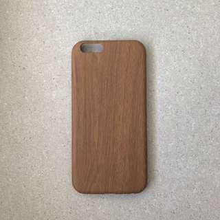 🚚 Mid Tone Wooden Pattern iPhone Case