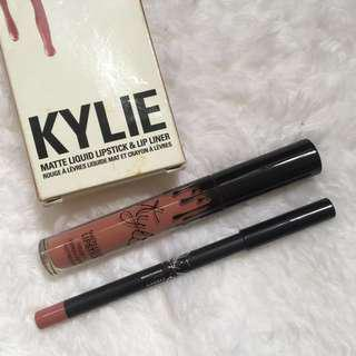 Authentic KYLIE Lip Kit in Candy K