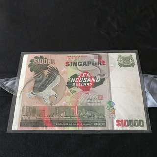 Bird $10000 Note