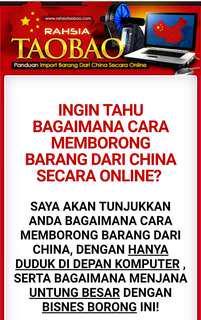Rahsia TAOBAO Borong Dari China