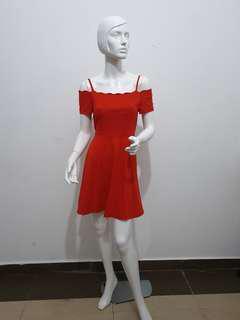 NWT Pretty Red Dress
