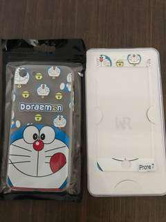 Doraemon phone casing and screen protector