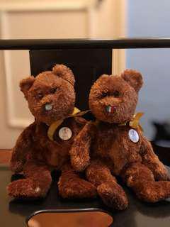 2002 World Cup Bear Beanie Babies