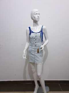 ARDENE (82) Soft Denim Jumper Skirt