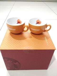 🆕 (Limited Edition) Starbucks 2017 Mid Autumn 4oZ Mugs #UNDER90