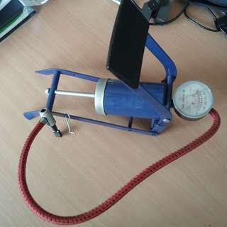 Bicycle Tyres Foot Portable Pump