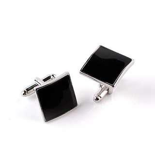 (PO) Black Cufflinks