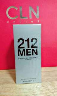 💯 Brand New Carolina Herrera 212 Men Perfume