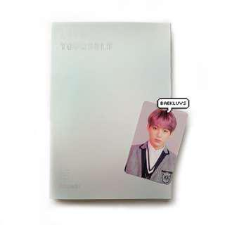 [W POSTER] BTS Love Yourself Answer + Jungkook Official Photocard