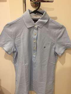 Baby Blue Tommy Hilfiger Polo
