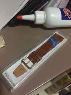 20mm 袋鼠 手表 啡色 皮帶
