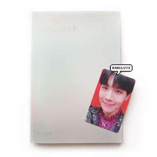 [W POSTER] BTS Love Yourself Answer + J-hope Official Photocard
