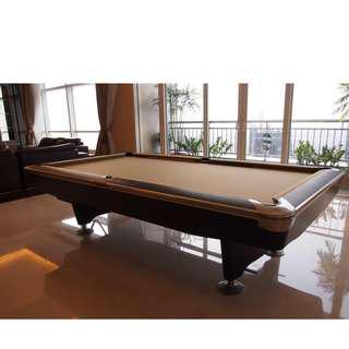 Meja billiard murrey gold 9 feet