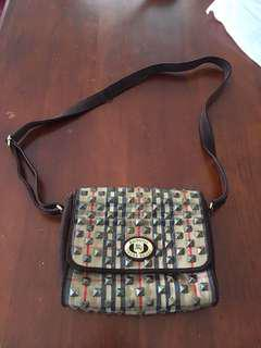 Burberry Vintage Sling Bag / Body Bag