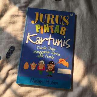 Jurus Pintar Kartunis - Buku Belajar Menggambar