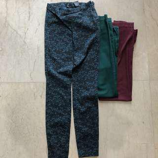 H&M pants celana bahan wanita