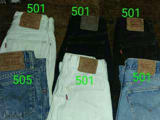 Levis 501 pants