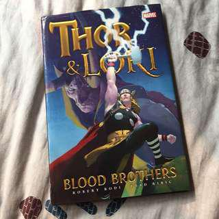 Thor & Loki: Blood Brothers - Buku Komik Marvel