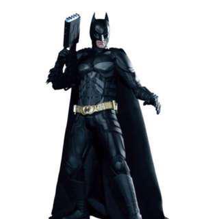 Hot Toys The Dark Knight Rises Batman/ Bruce Wayne 1/6th scale Action Figure #滄海遺珠
