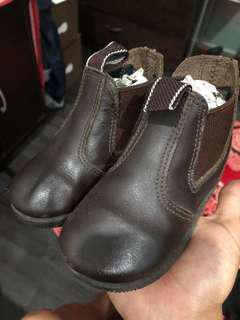 Grosby Child Boots Leather