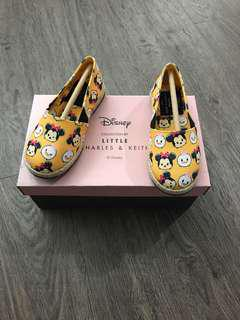Charles & Keith Disney Collection Kids Loafers