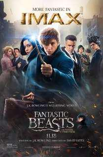 Fantastic Beasts movie poster from Harry Potter Series with FREE Hatsune Miku Vocaloid anime poster