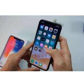 Iphone x 256gb hitam