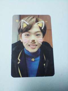 (WTT/WTS) NCT Dream The First Jisung Photocard