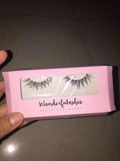 Wonderful lashes bulu mata palsu fake lashes