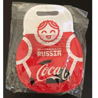 可口可樂2018 俄羅斯世界杯保溫袋Coca cola 2018 World Cup Russia Cooler Bag