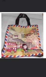 全新正版 雙面British museum 圖案 Chocolate Rain tote bag 手挽袋
