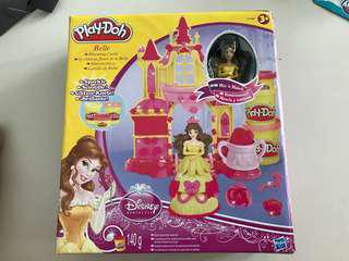 #Under 90 Play doh belle's castle