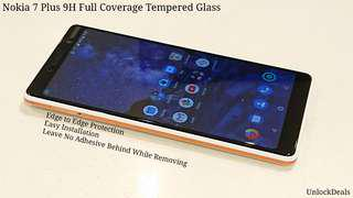🚚 Nokia 7 Plus 9H Full Coverage Tempered Glass Screen Pro