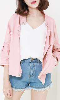 Pink Bomber Jacket #under90