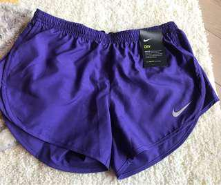 Nike Dri-fit Running Shorts - special purple colour - size S