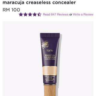 Tarte maracuja creaseless concealer #under90