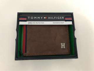 Tommy Hilfiger Wallet Leather 美國真皮銀包 男士