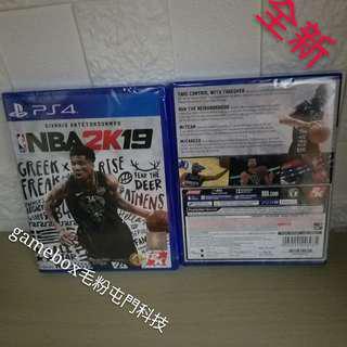 全新PS4 NBA2K19 中英文版