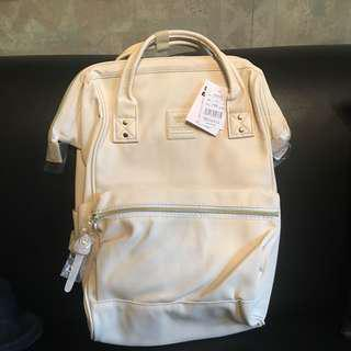 Anello leather backpack (ivory white)