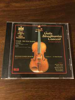 Audiophile cd Gala Stradivarius concert