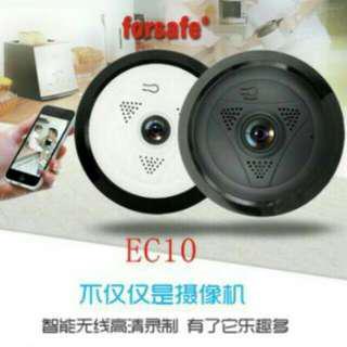 🚚 EC-10 HD Wi-Fi 360°錄影監視器 Wireless IP Camera