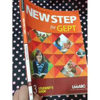 二手 New step for GEPT student'sbook 3大專院校 Live ABC 五專 英文 課本 護理系 教材