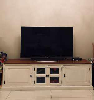 White TV Console traditional style