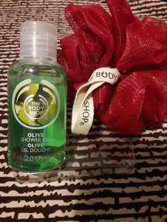 Authentic The Body Shop Olive Shower Gel 60ml