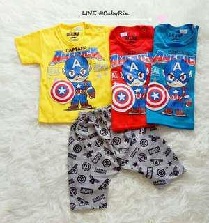 Kaos anak laki2 Captain America