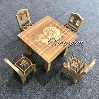 Miniature Furniture for Dolls