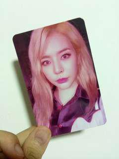 free mailing snsd sunny photocard instock