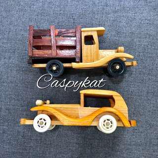 Wooden Vintage Car & Truck