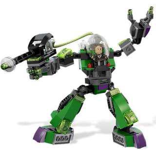 LEGO 6862 dc comic Super heros lex Luthor power armor superman vs power armor lex mech 6862